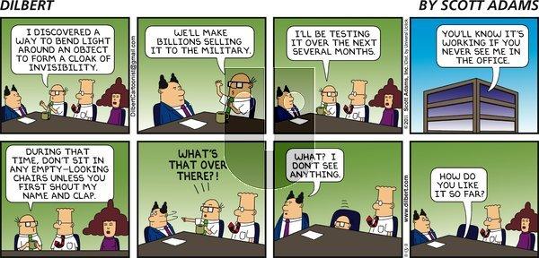 Dilbert - Sunday November 13, 2011 Comic Strip