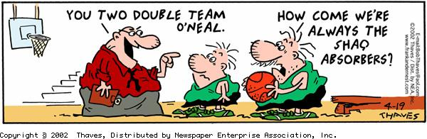 Frank and Ernest Comic Strip for April 19, 2002