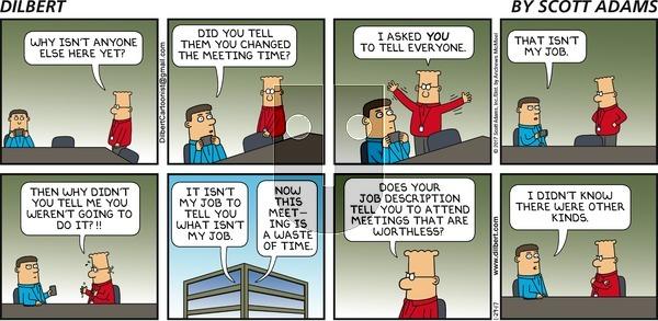 Dilbert - Sunday January 29, 2017 Comic Strip