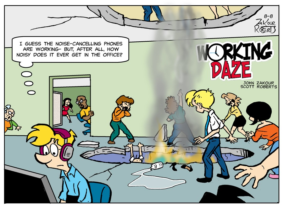 Working Daze Comic Strip for August 08, 2021