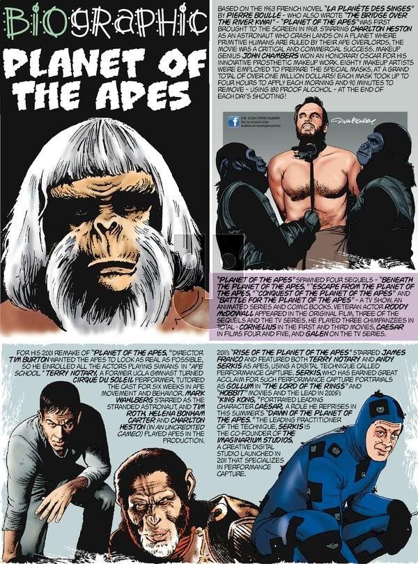 Biographic on Sunday June 15, 2014 Comic Strip
