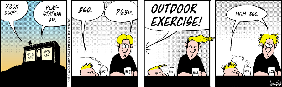 Rudy Park Comic Strip for December 05, 2020
