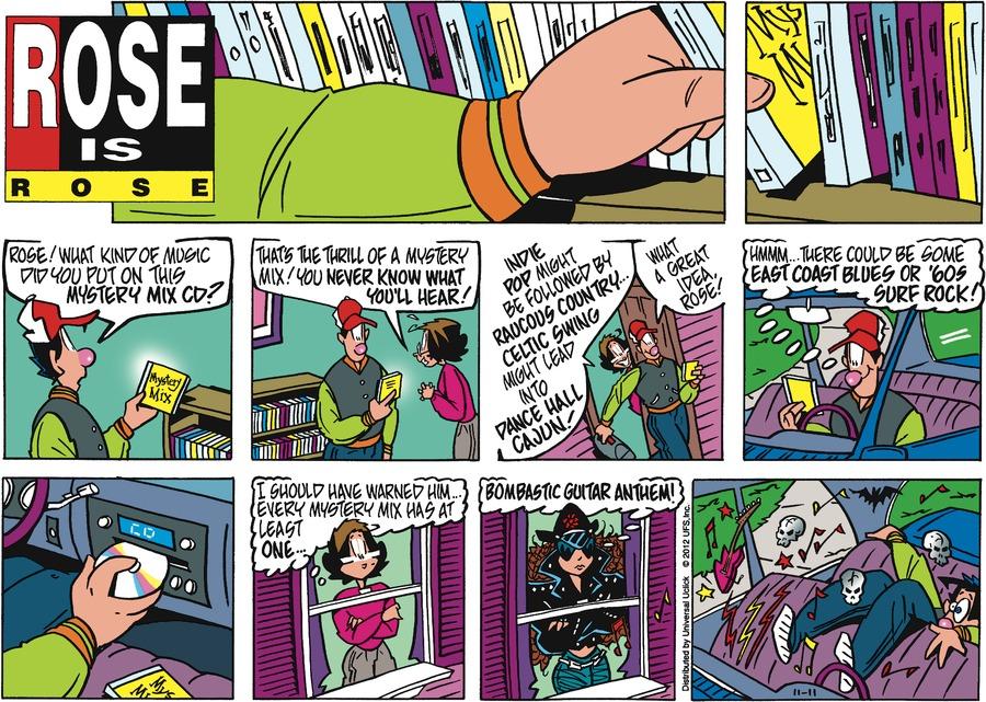Rose is Rose for Nov 11, 2012 Comic Strip