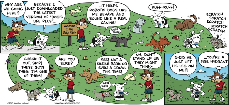 Bleeker: The Rechargeable Dog Comic Strip for June 19, 2016