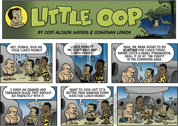 Alley Oop - Sunday February 24, 2019 Comic Strip