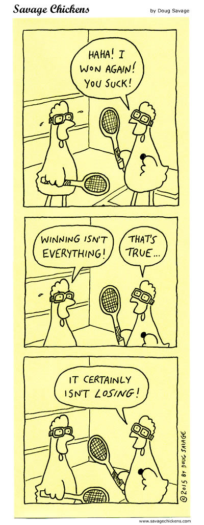 Savage Chickens Comic Strip for May 20, 2019
