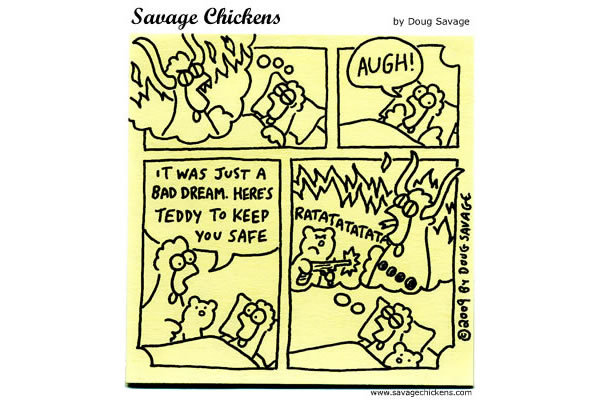 Savage Chickens Comic Strip for June 20, 2013