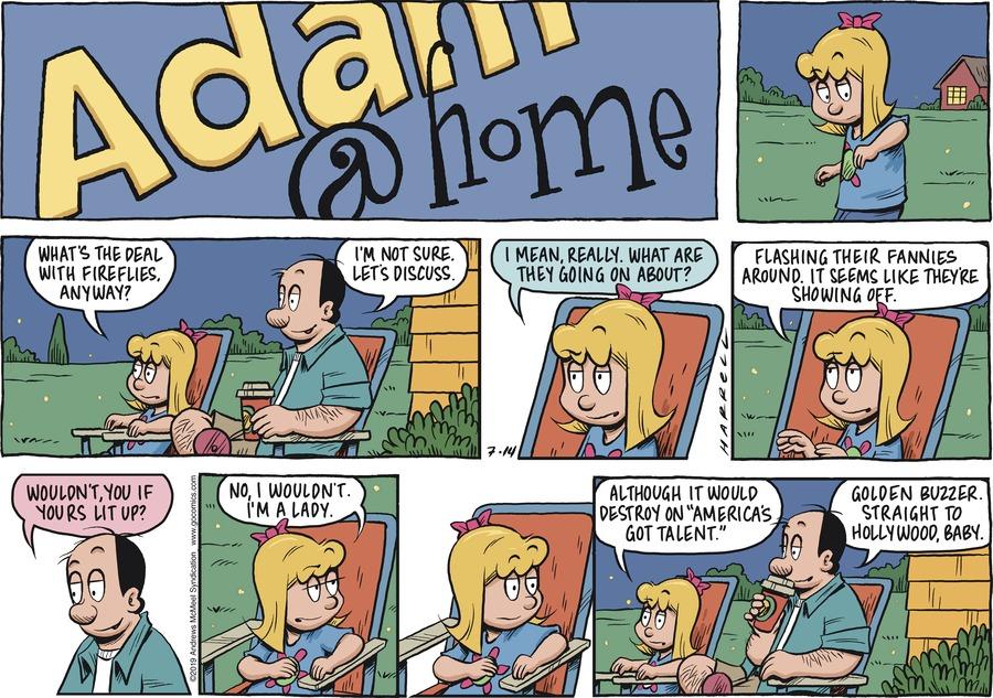 Adam@Home Comic Strip for July 14, 2019