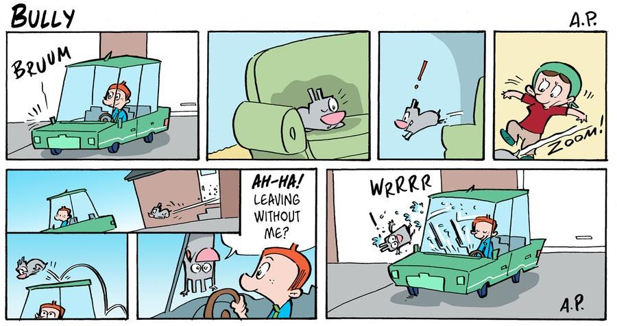 Bully Comic Strip for April 18, 2021