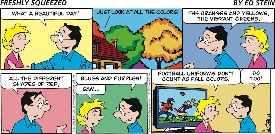 Freshly Squeezed Comic Strip for October 20, 2019