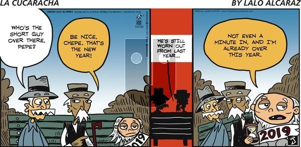 La Cucaracha - Sunday December 30, 2018 Comic Strip
