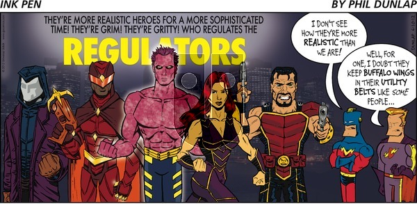 Ink Pen on Sunday June 10, 2012 Comic Strip