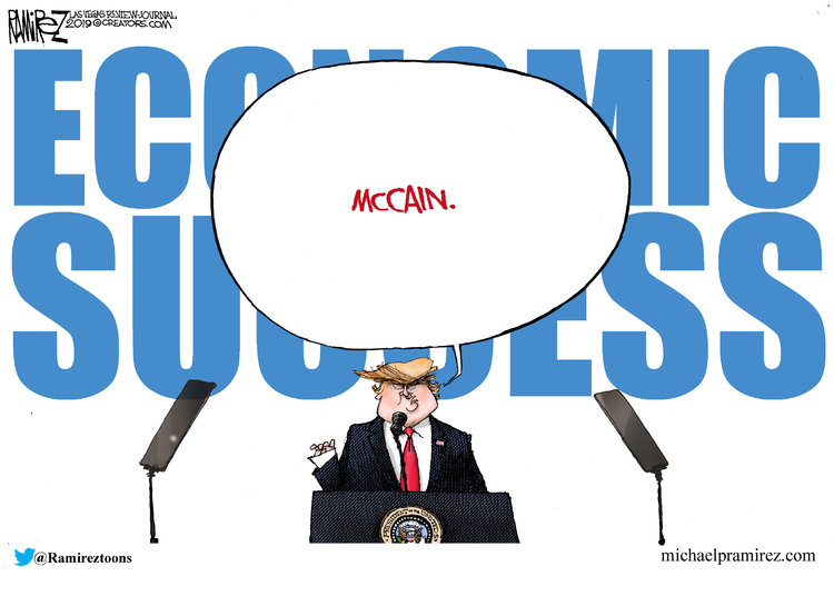 Michael Ramirez Comic Strip for March 22, 2019