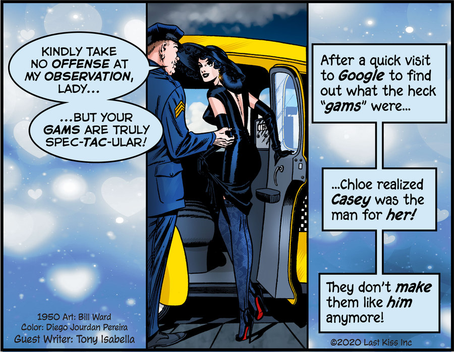 Last Kiss Comic Strip for May 22, 2020