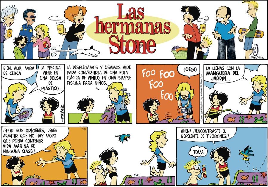 Las Hermanas Stone Comic Strip for July 25, 2021