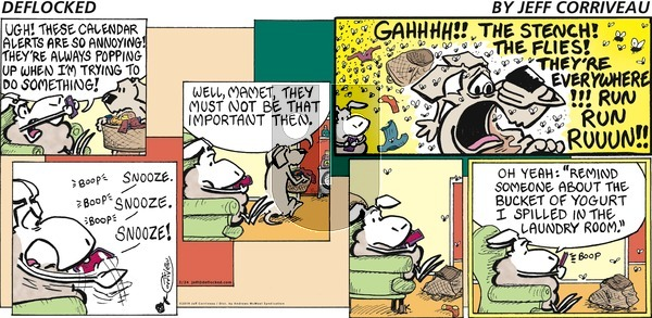 DeFlocked on Sunday March 24, 2019 Comic Strip