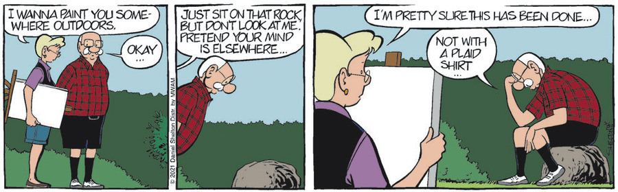 Ben Comic Strip for July 30, 2021