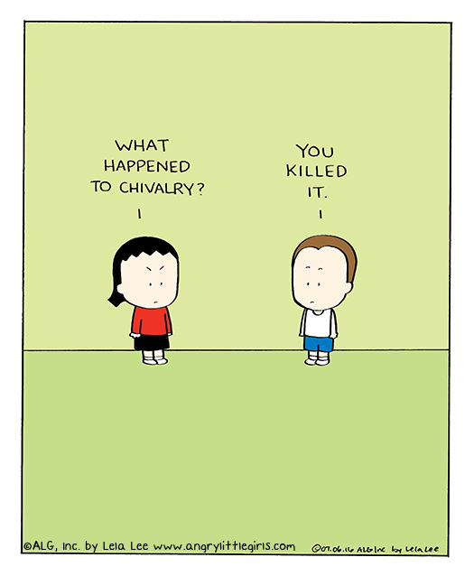 Angry Little Girls for Jun 24, 2013 Comic Strip