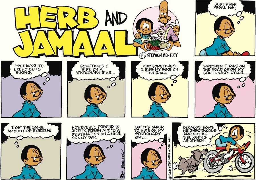 Herb and Jamaal by Stephen Bentley on Sun, 30 May 2021
