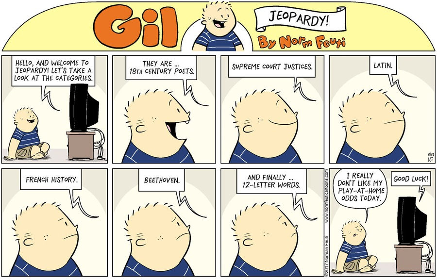 Gil Comic Strip for August 08, 2021