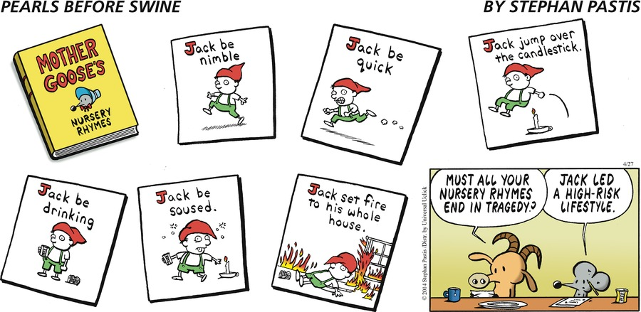 Pearls Before Swine by Stephan Pastis for April 27, 2014