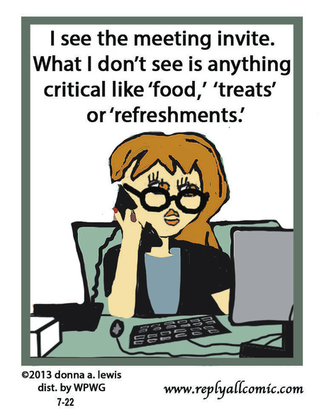 Reply All Lite Comic Strip for July 22, 2013