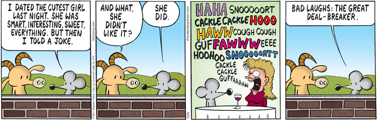 Pearls Before Swine Comic Strip for October 25, 2011