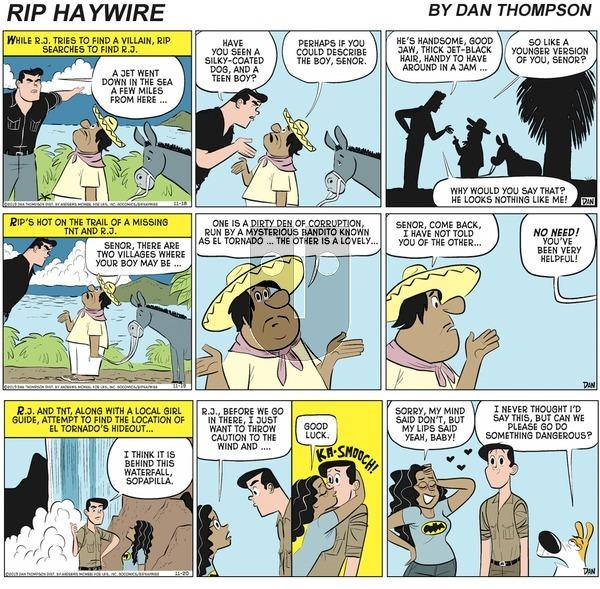 Rip Haywire on Sunday April 18, 2021 Comic Strip