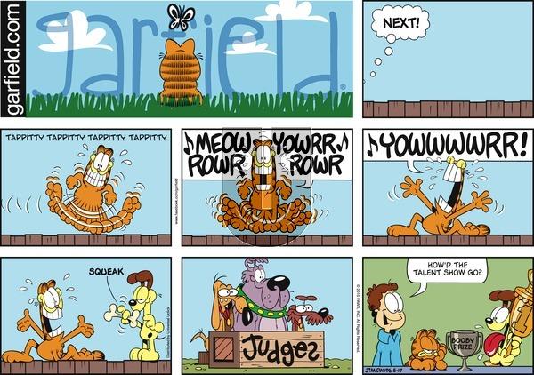 Garfield on Sunday May 17, 2015 Comic Strip