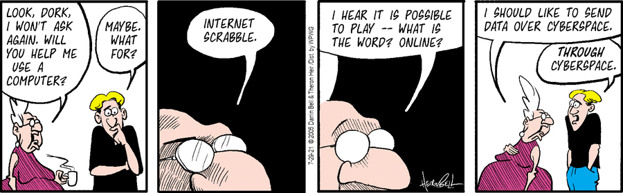 Rudy Park Comic Strip for July 29, 2021