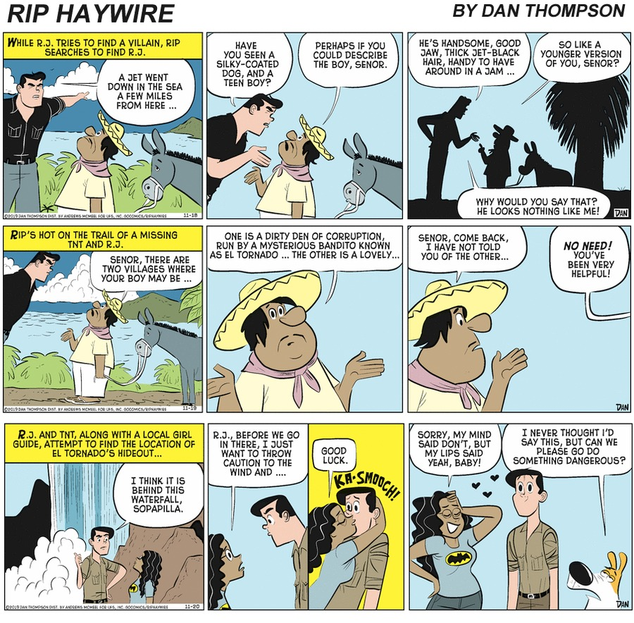 Rip Haywire Comic Strip for April 18, 2021