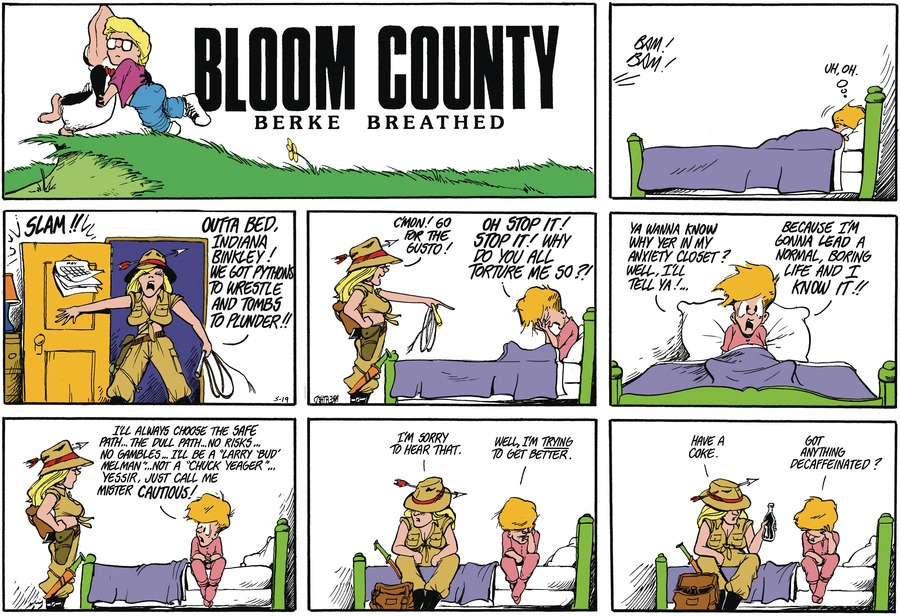 Bloom County Comic Strip for May 12, 2021