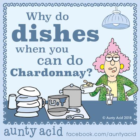 Aunty Acid by Ged Backland