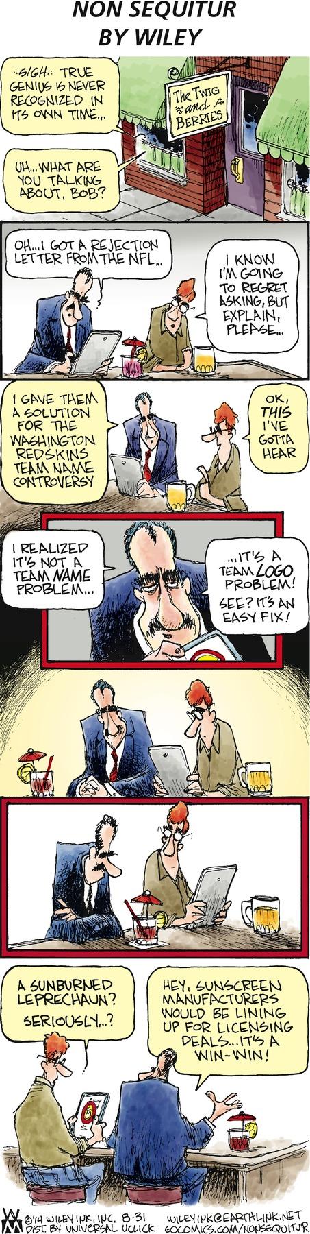 Non Sequitur Comic Strip for August 31, 2014