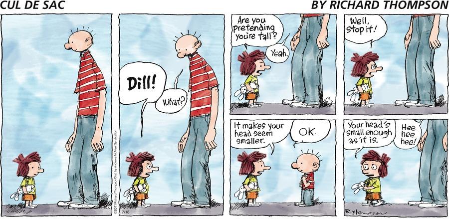 Cul de Sac Comic Strip for July 18, 2021