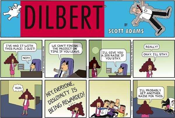Dilbert - Sunday May 14, 2006 Comic Strip