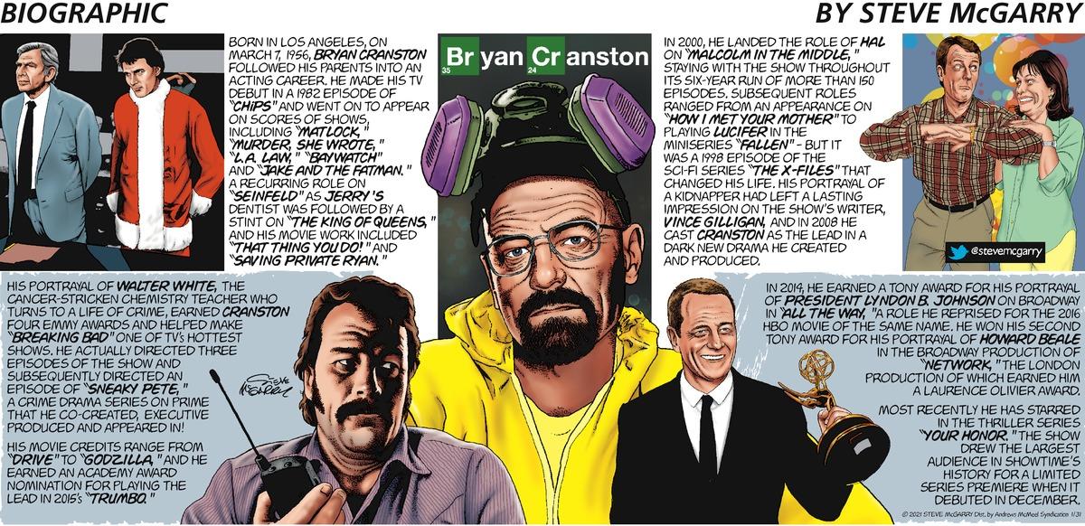 Biographic Comic Strip for January 31, 2021