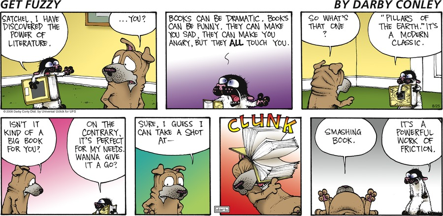 Get Fuzzy Comic Strip for August 25, 2013