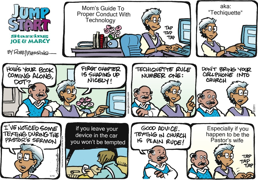 JumpStart Comic Strip for May 19, 2013
