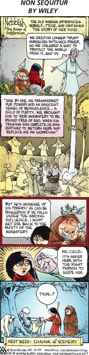 Non Sequitur on Sunday December 23, 2018 Comic Strip