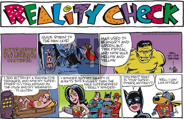 Reality Check on Sunday February 10, 2019 Comic Strip