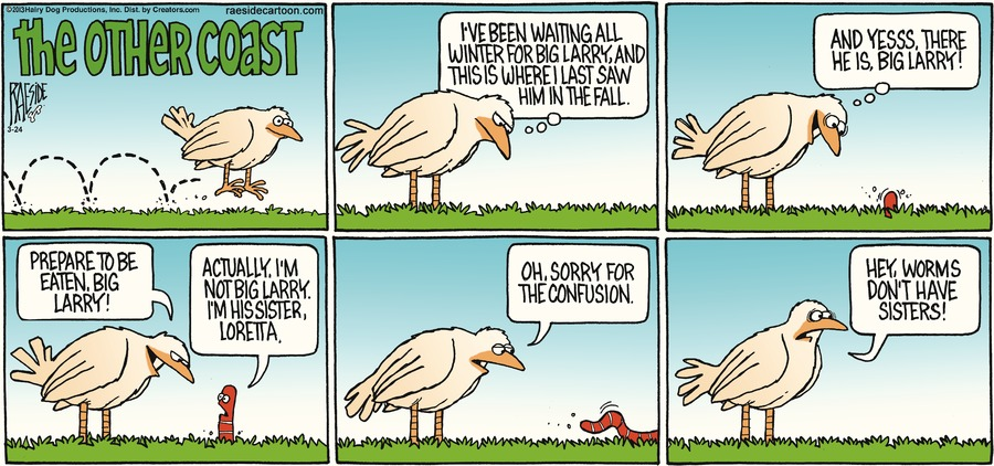 The Other Coast for Mar 24, 2013 Comic Strip