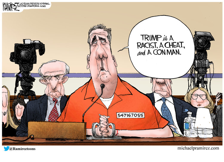 Michael Ramirez by Michael Ramirez for March 01, 2019