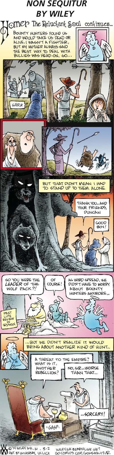 Non Sequitur Comic Strip for March 02, 2014