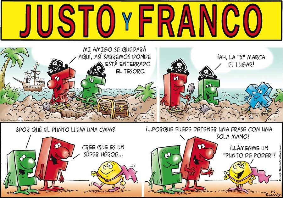 Justo y Franco by Thaves on Sun, 05 Jan 2020