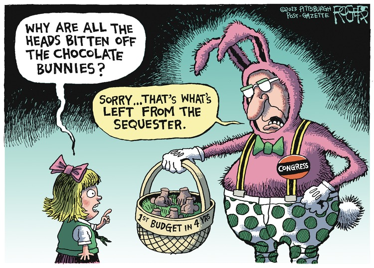 Rob Rogers Comic Strip for March 31, 2013