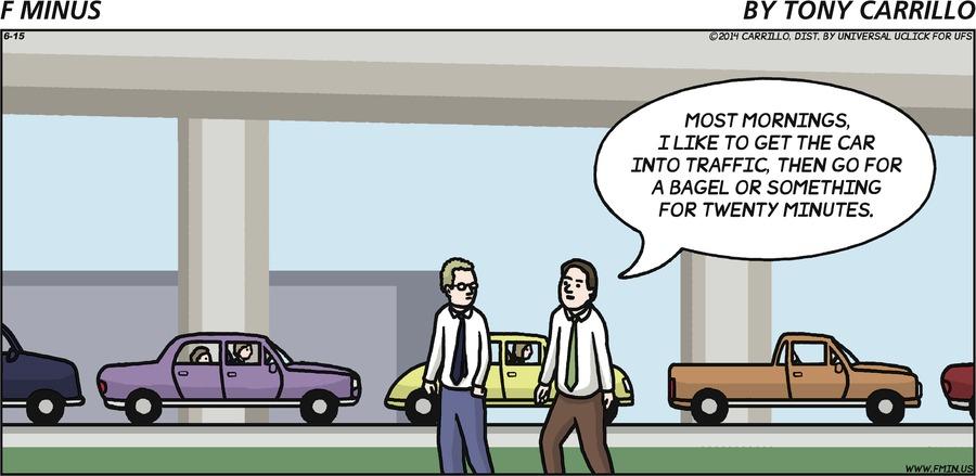 F Minus for Jun 15, 2014 Comic Strip