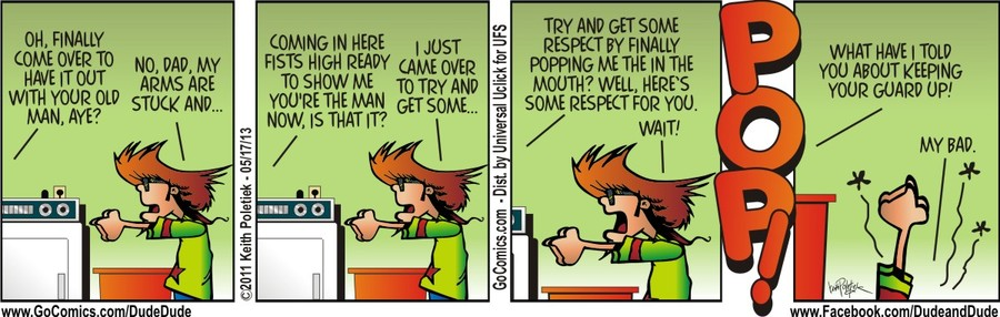 Dude and Dude for May 17, 2013 Comic Strip