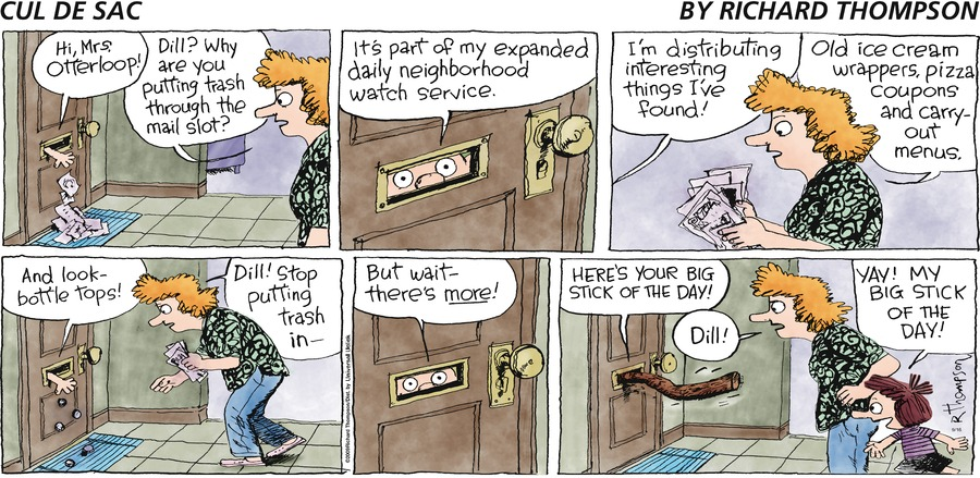 Cul de Sac Comic Strip for September 16, 2012