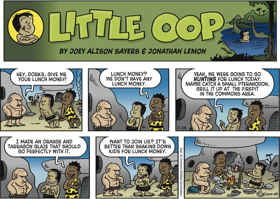 Alley Oop Comic Strip for February 24, 2019